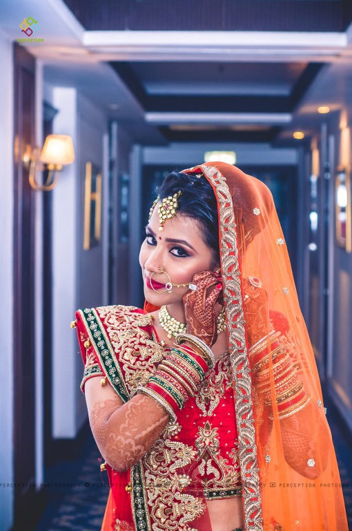 A Gorgeous Bride Adorning Bridal Jewellery by Anuj Sharma Wedding-photography Bridal-makeup | Weddings Photos & Ideas