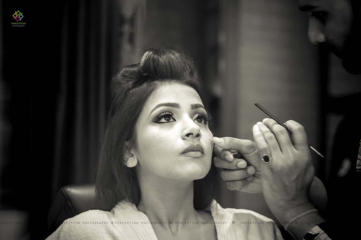 Bride Getting Ready For Her Wedding Day by Anuj Sharma Wedding-photography | Weddings Photos & Ideas