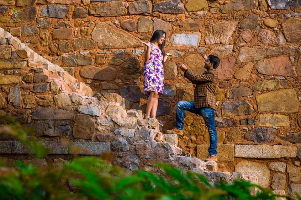 A Wonderful Shot On A Stunning Backdrop by Anuj Sharma Wedding-photography   Weddings Photos & Ideas