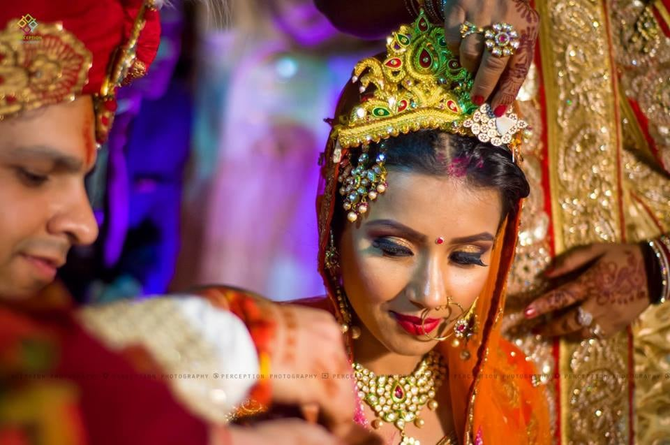 Heavy Bridal Makeup For The Bride by Anuj Sharma Wedding-photography Bridal-jewellery-and-accessories Bridal-makeup | Weddings Photos & Ideas