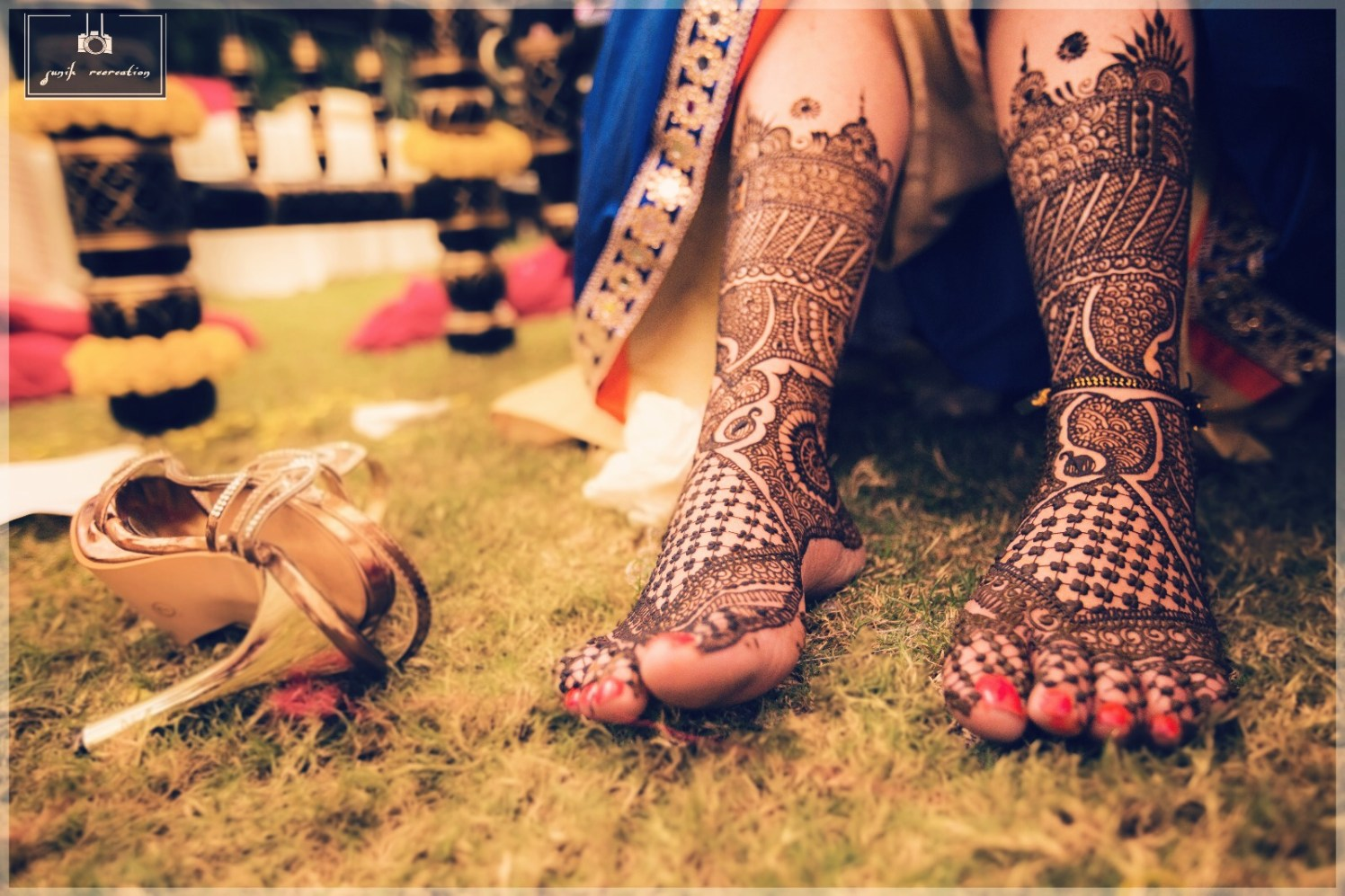 Beautiful mehendi design by Sunik Recreations Wedding-photography | Weddings Photos & Ideas