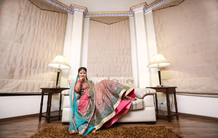 Royal Bridal Wedding Shoot In A Royal Set by Paramjeet Singh Dhanjal Wedding-photography | Weddings Photos & Ideas