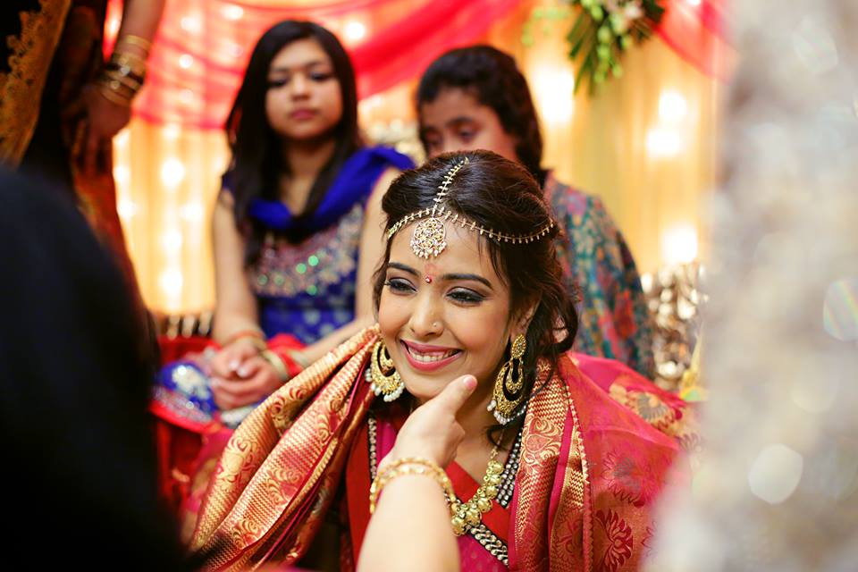 Candid Shot Of Bride Inspiring Affection by Paramjeet Singh Dhanjal Wedding-photography | Weddings Photos & Ideas