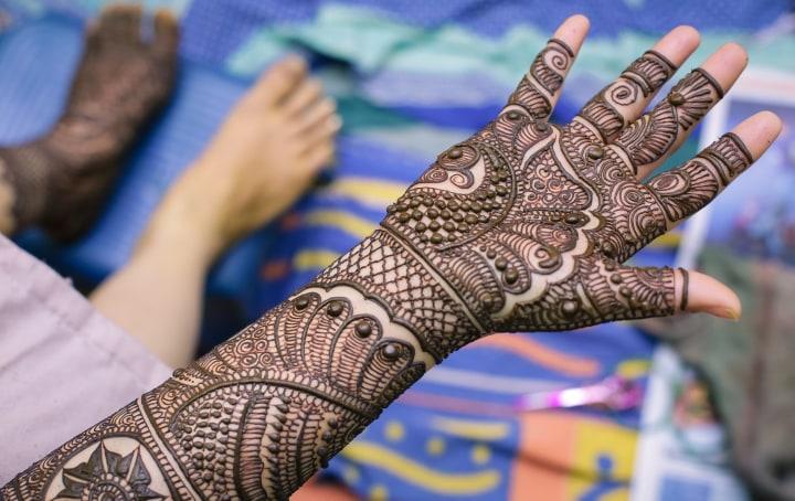 Extremely Alluring Bridal Mehendi Design by Paramjeet Singh Dhanjal Bridal-mehendi | Weddings Photos & Ideas