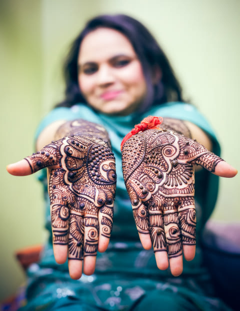 Heavy Detailed Indian Mehendi Design by Paramjeet Singh Dhanjal Bridal-mehendi | Weddings Photos & Ideas