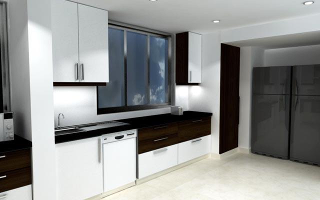 Modern Modular Kitchen Design. by The Designers Modular-kitchen Modern | Interior Design Photos & Ideas