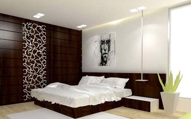 A Contemporary Bedroom. by ARCHVISTA Bedroom Contemporary | Interior Design Photos & Ideas