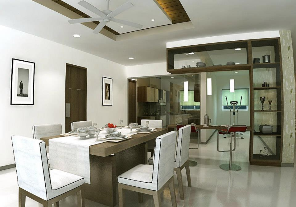 Modern dining room decor by The Inside Story Dining-room Modern | Interior Design Photos & Ideas