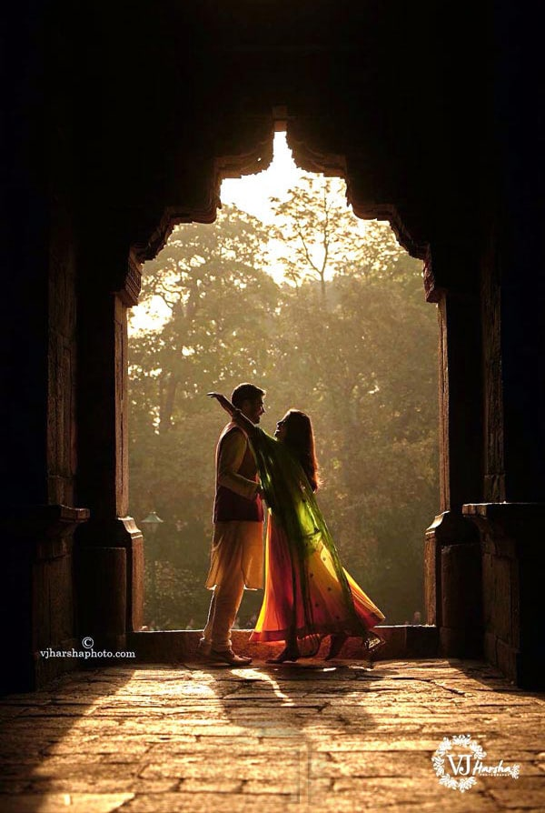 Enigmatic Photo of the Stellar Couple by Vjharsha Photography Wedding-photography | Weddings Photos & Ideas