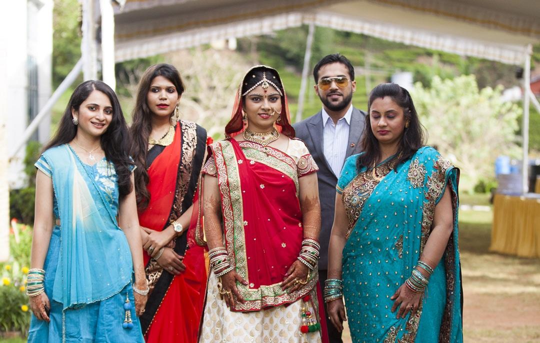 Bride's squad by Praveen P Raj  Wedding-photography | Weddings Photos & Ideas