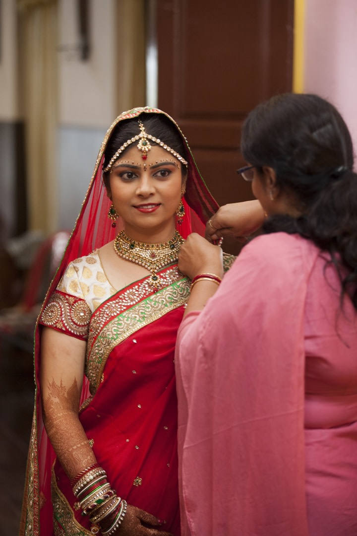 All Glammed Up And Ready To Start Her Wedding Day by Praveen P Raj  Wedding-photography | Weddings Photos & Ideas