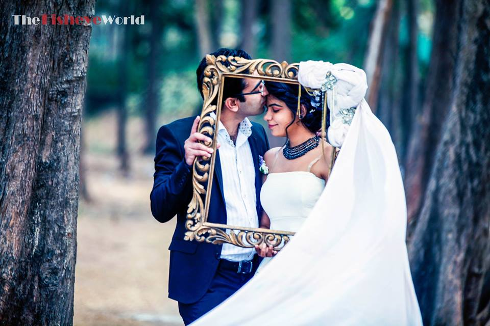 The adorable kiss of love by The Fisheye world institute of photography and studios Wedding-photography | Weddings Photos & Ideas