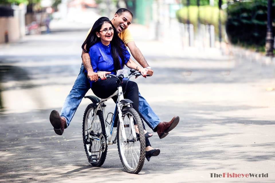 Gleeful pre wedding shot by The Fisheye world institute of photography and studios Wedding-photography | Weddings Photos & Ideas