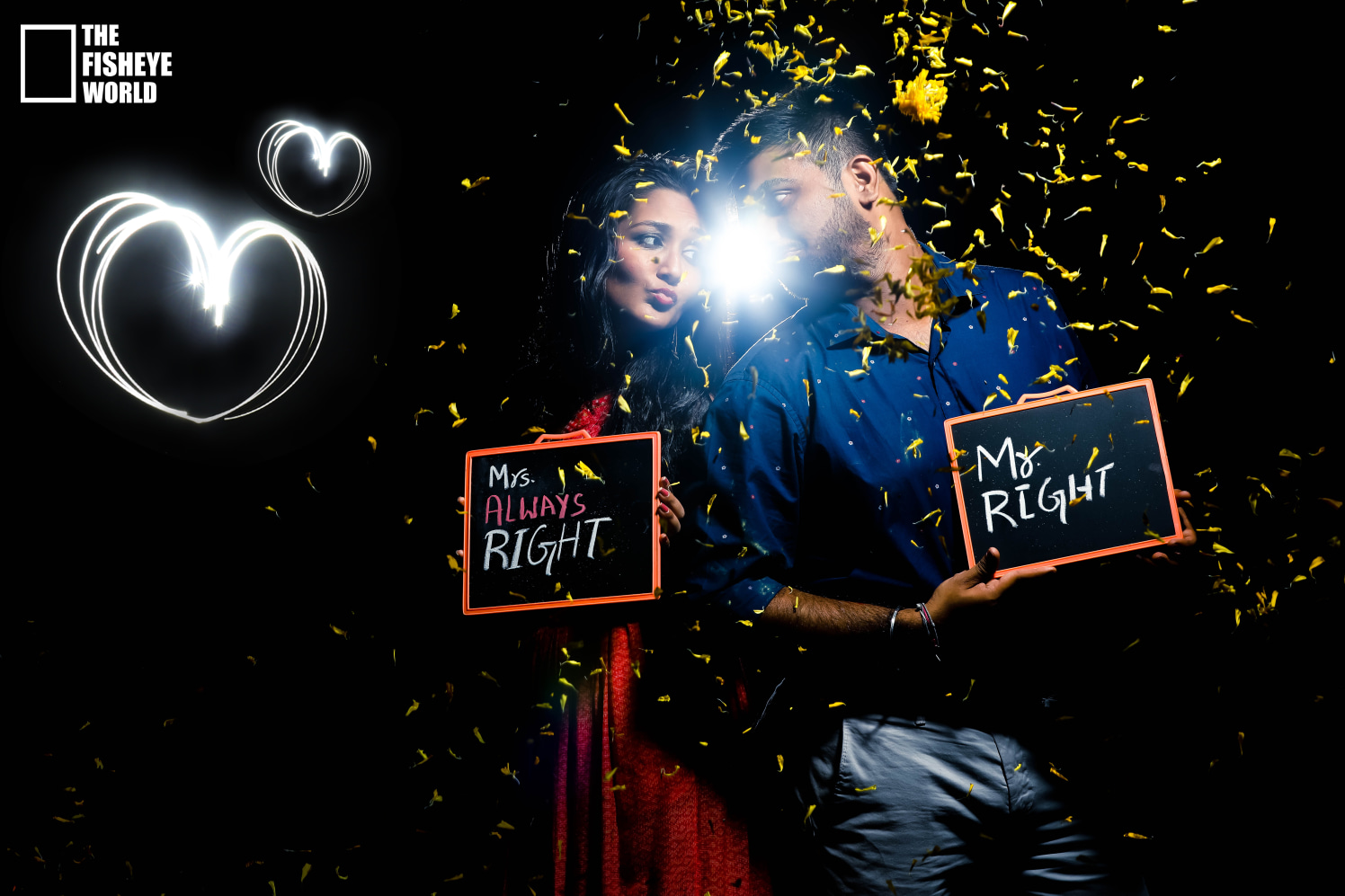 Amazing pre wedding shoot idea by The Fisheye world institute of photography and studios Wedding-photography   Weddings Photos & Ideas