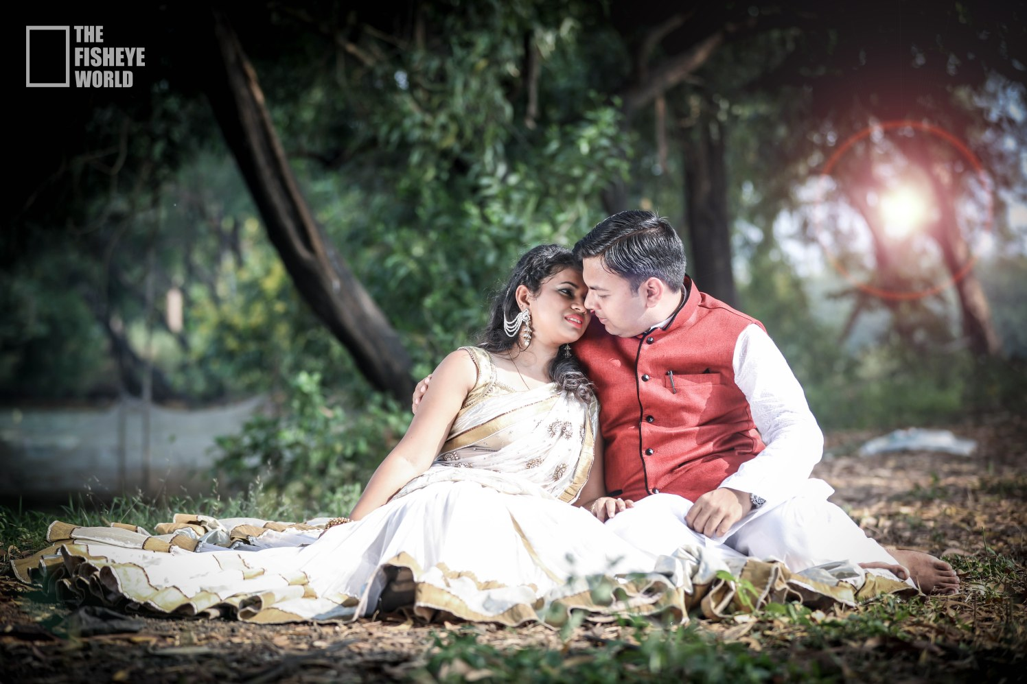 Dreamy love duo captured by The Fisheye world institute of photography and studios Wedding-photography | Weddings Photos & Ideas
