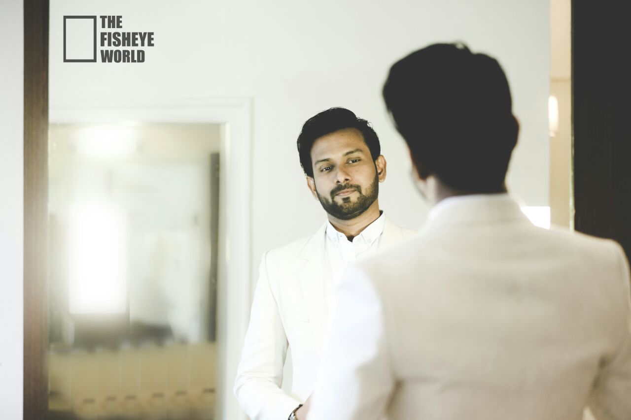 Voguish groom getting ready by The Fisheye world institute of photography and studios Wedding-photography | Weddings Photos & Ideas