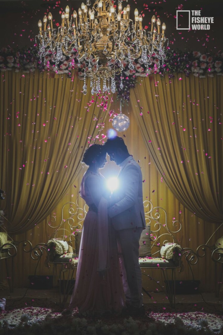 Splendid shot of the gorgeous couple by The Fisheye world institute of photography and studios Wedding-photography | Weddings Photos & Ideas