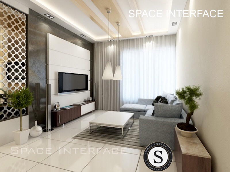 Simple living room! by Space Interface - Architecture and Interior Design Living-room | Interior Design Photos & Ideas