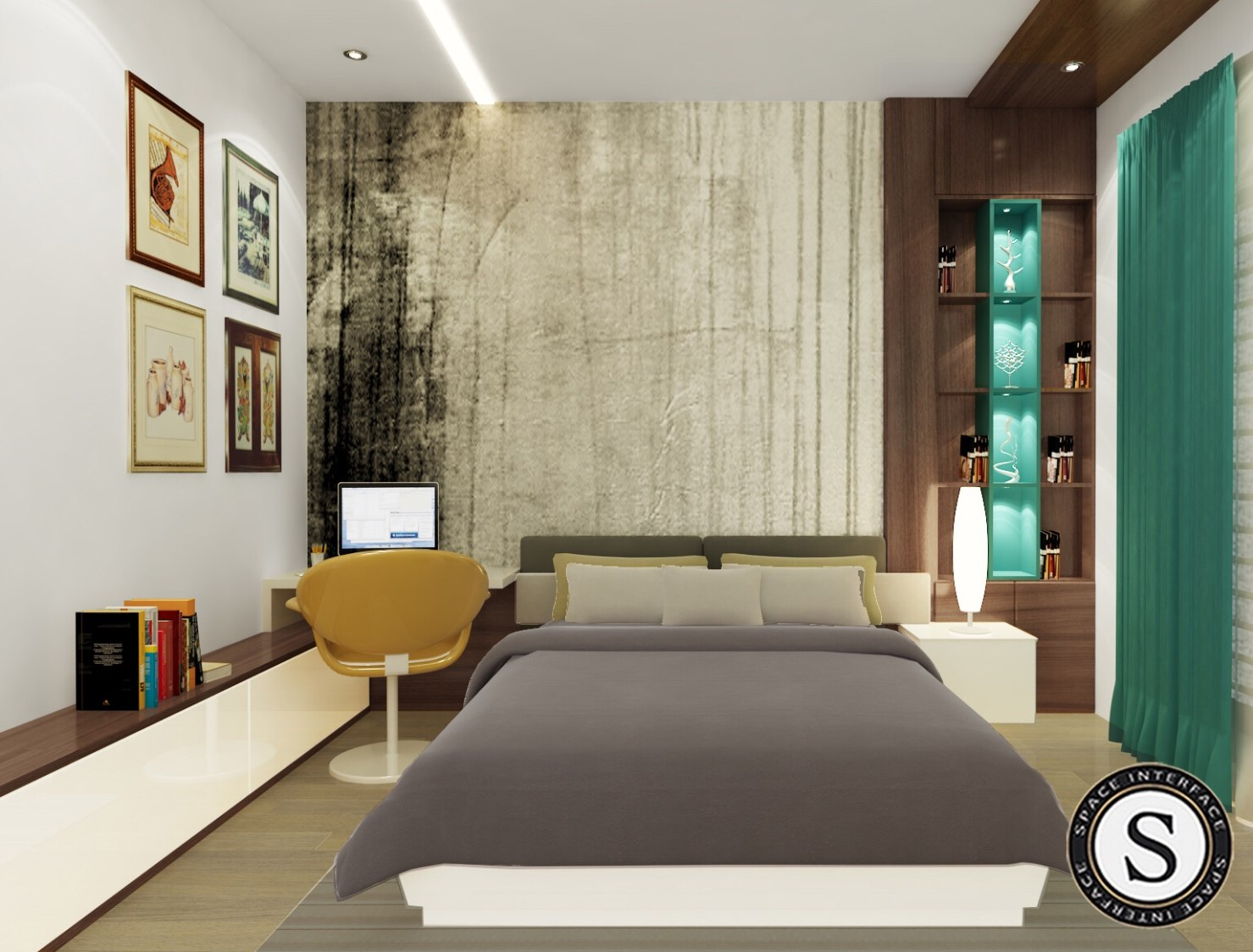 3D Bedroom Design! by Space Interface - Architecture and Interior Design Bedroom | Interior Design Photos & Ideas