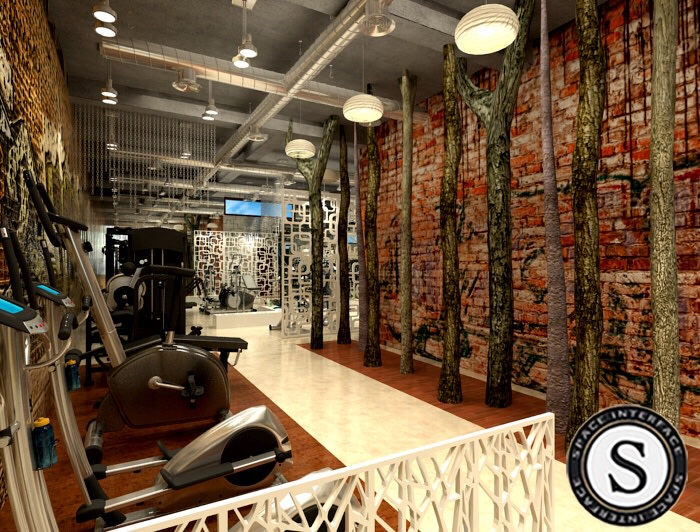 Gymnasium Design! by Space Interface - Architecture and Interior Design   Interior Design Photos & Ideas