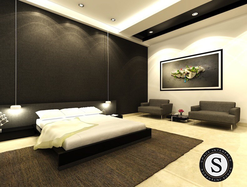 Modern theme bedroom! by Space Interface - Architecture and Interior Design Bedroom | Interior Design Photos & Ideas
