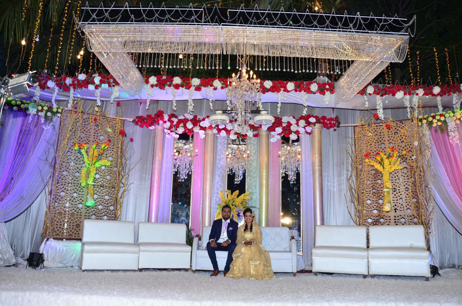 A beautiful stage setting! by Dhwani Digital Vision Photography Wedding-photography | Weddings Photos & Ideas