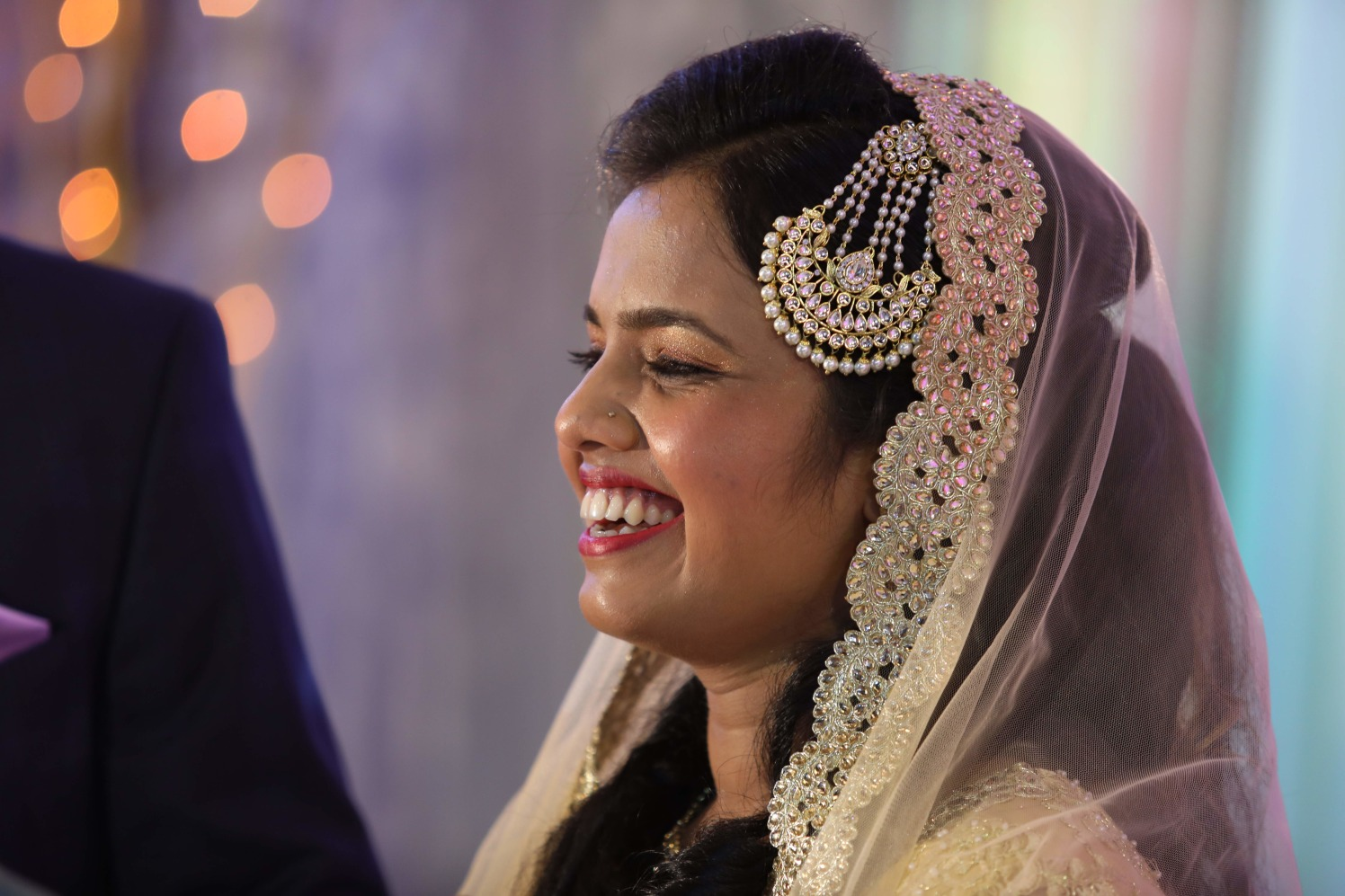 A happy bide on her D-day! by Dhwani Digital Vision Photography Wedding-photography | Weddings Photos & Ideas