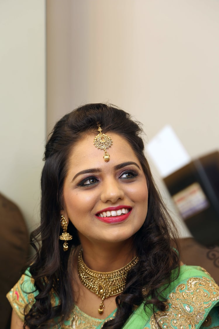 Smiling Bride-To-Be! by Dhwani Digital Vision Photography Wedding-photography | Weddings Photos & Ideas