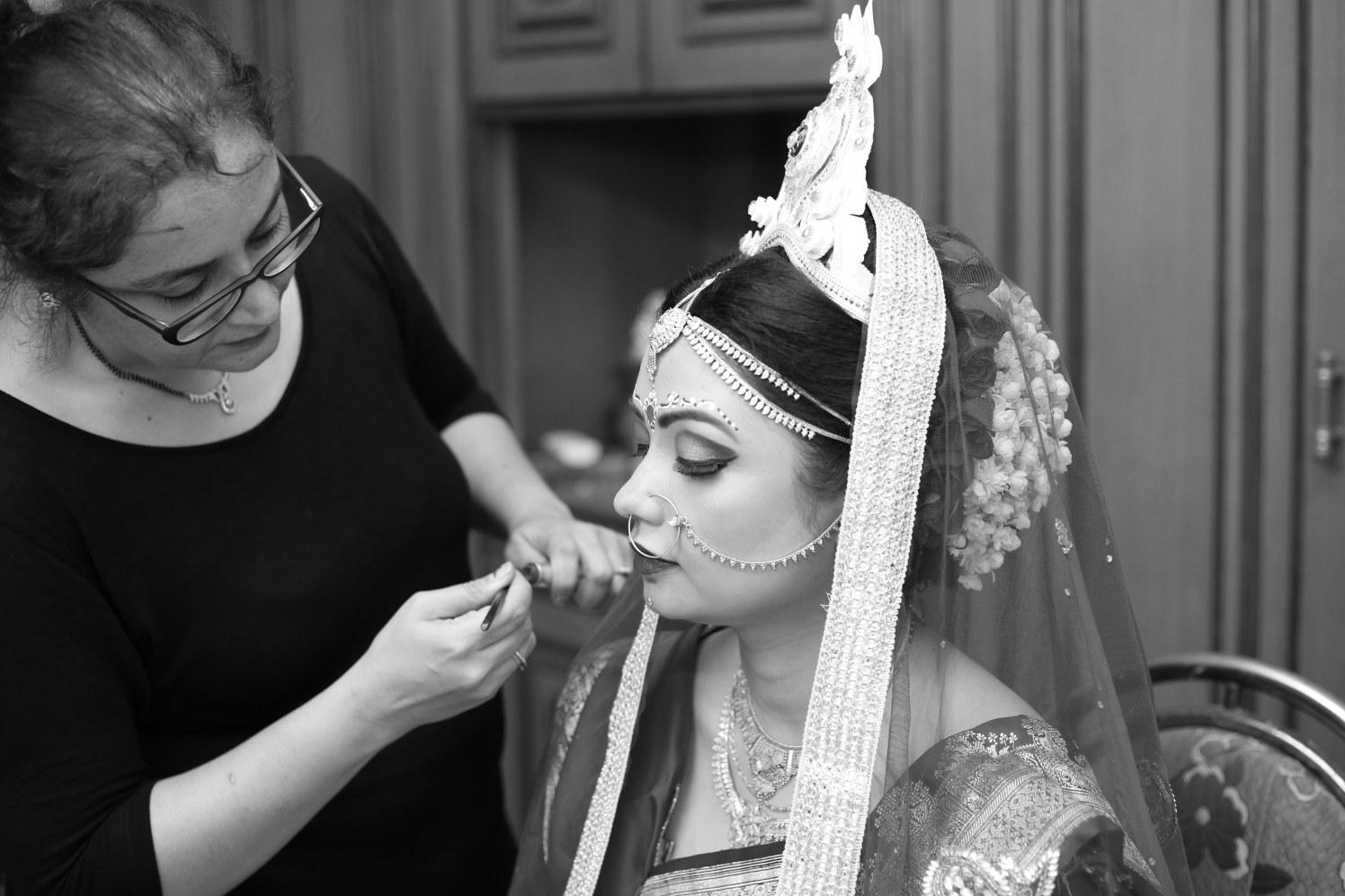 Bride getting ready! by Dhwani Digital Vision Photography Wedding-photography | Weddings Photos & Ideas