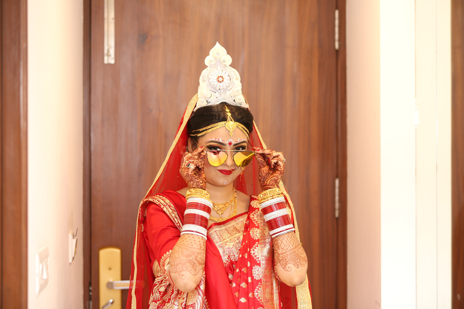A funky bride! by Dhwani Digital Vision Photography Wedding-photography | Weddings Photos & Ideas