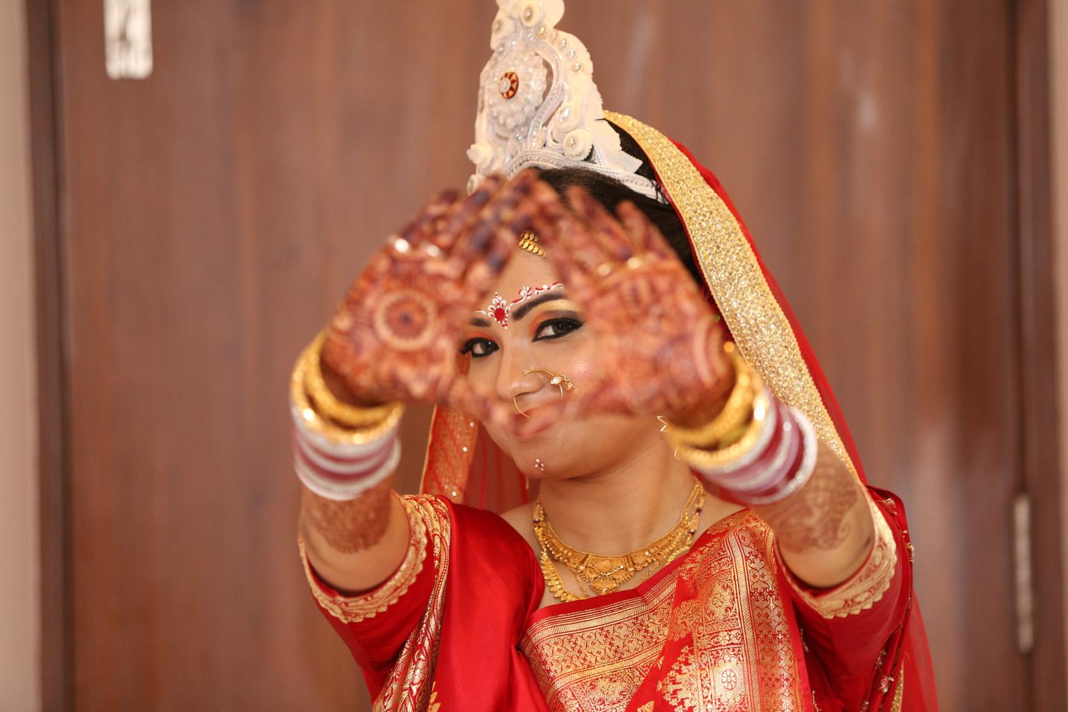 Bengali Bride! by Dhwani Digital Vision Photography Wedding-photography | Weddings Photos & Ideas