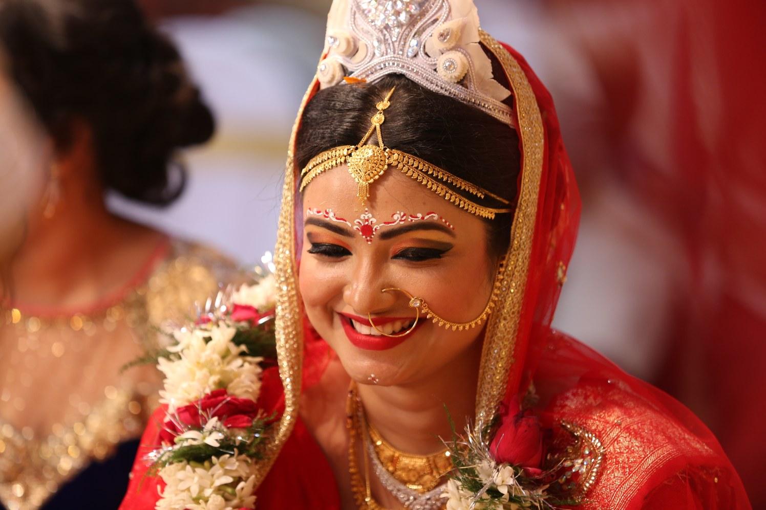 Smiling bride shot! by Dhwani Digital Vision Photography Wedding-photography   Weddings Photos & Ideas