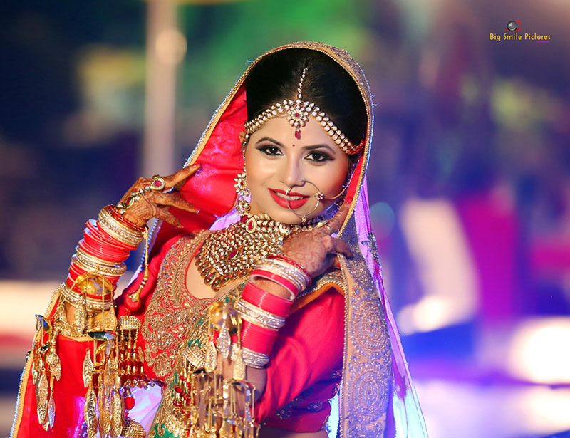 Stellar Bride On Her Wedding Day by Mukesh bijalwan  Wedding-photography Bridal-makeup Bridal-jewellery-and-accessories | Weddings Photos & Ideas