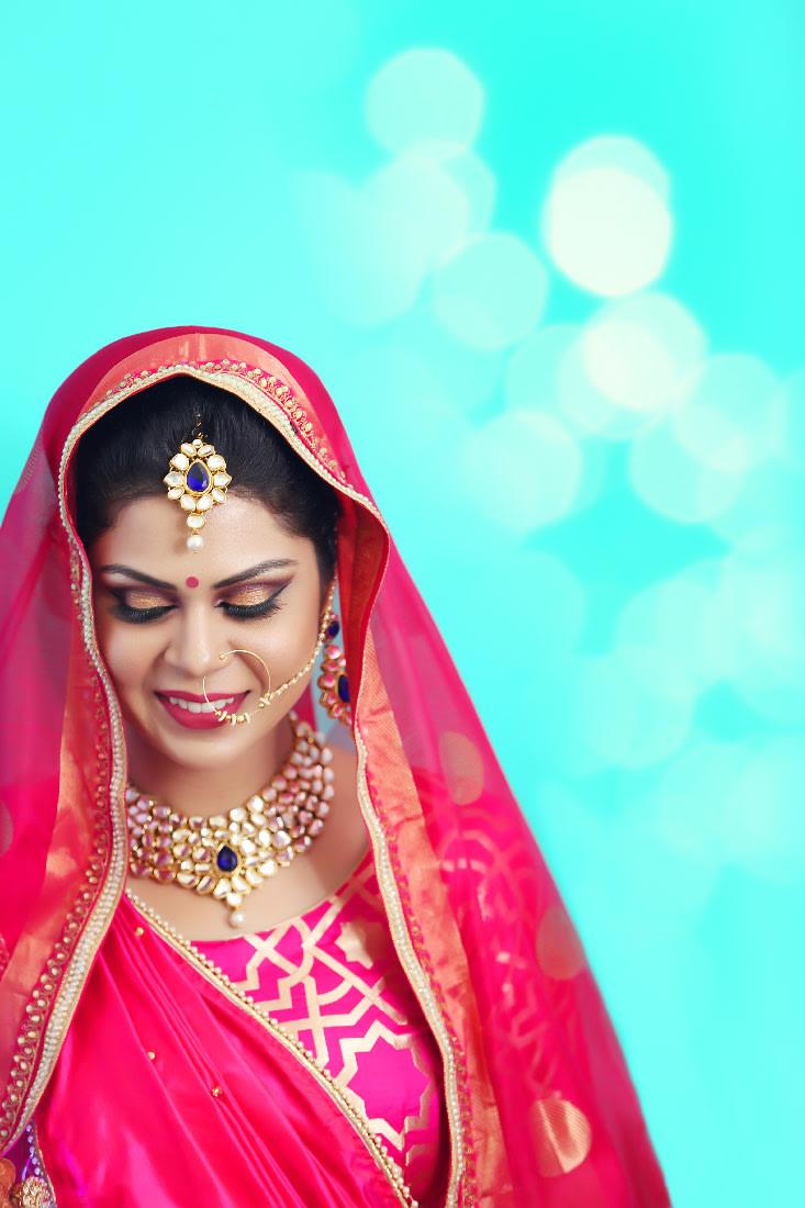 Bride Beautifully Adorned With Stunning Bridal Jewellery by Mukesh bijalwan  Wedding-photography Bridal-makeup Bridal-jewellery-and-accessories | Weddings Photos & Ideas