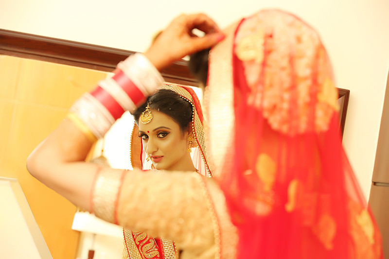 Bride Getting Ready For Her Special Day by Mukesh bijalwan  Wedding-photography Bridal-jewellery-and-accessories | Weddings Photos & Ideas