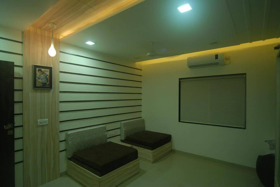 Minimalistic living room decor by Arch+3 Living-room Modern   Interior Design Photos & Ideas