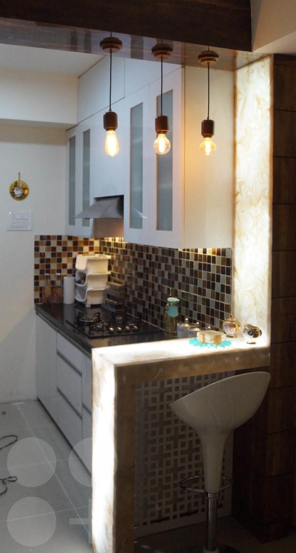 Modular kitchen decor by Arch+3 Modular-kitchen Modern | Interior Design Photos & Ideas