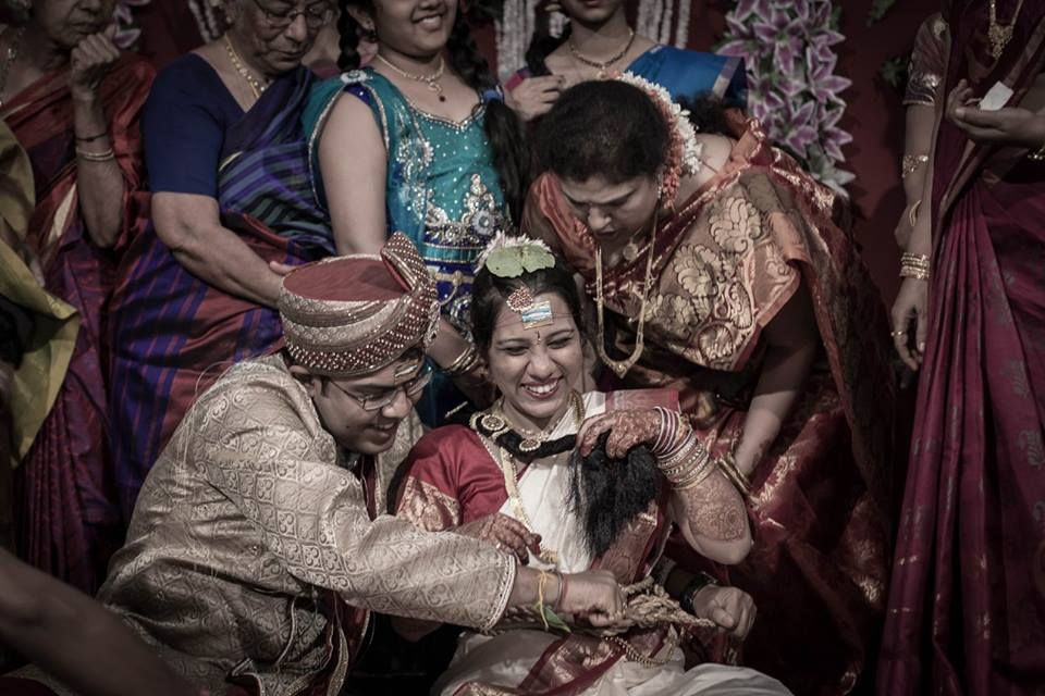 A ecstatic bride on her wedding! by Orange Peel Photography Wedding-photography | Weddings Photos & Ideas