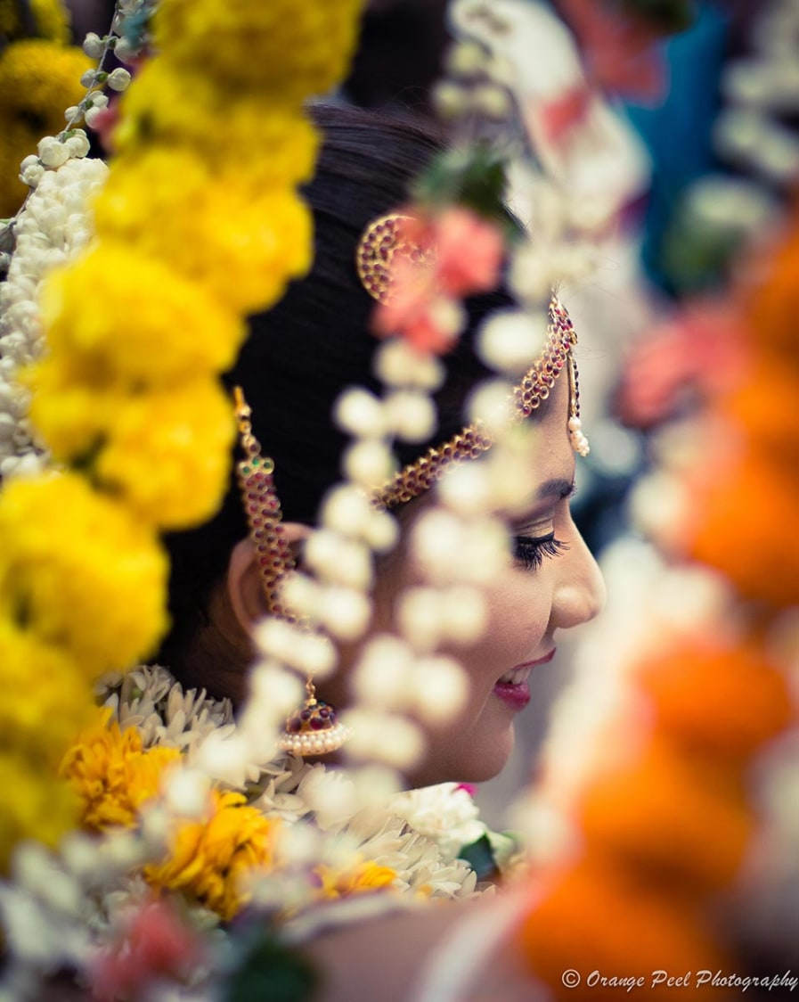 A beautiful south indian bride! by Orange Peel Photography Wedding-photography | Weddings Photos & Ideas