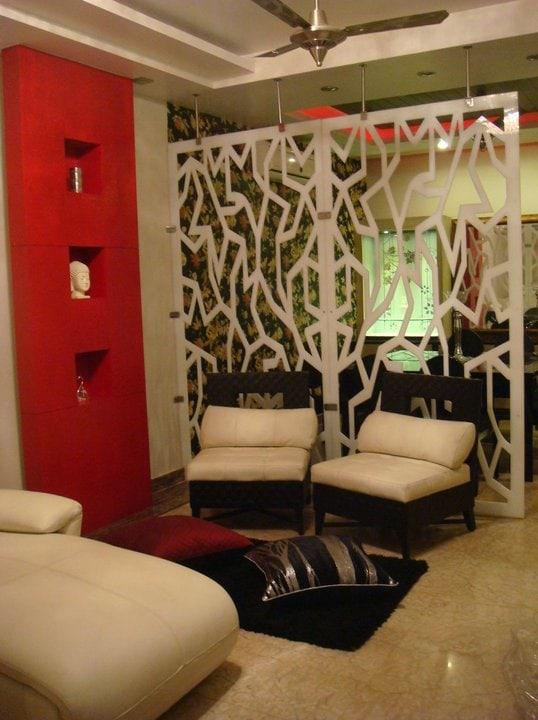 A contemporary living room with cream coloured furniture by Reform Design  Living-room   Interior Design Photos & Ideas