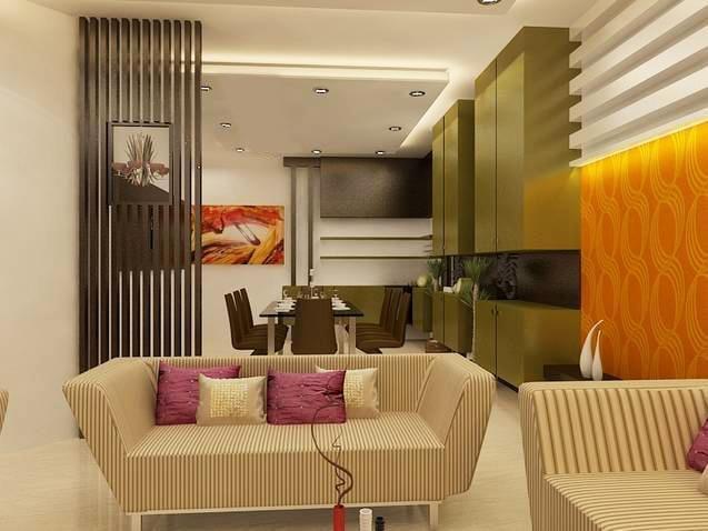 Spacious caramel living room with marble flooring by Reform Design  Living-room | Interior Design Photos & Ideas