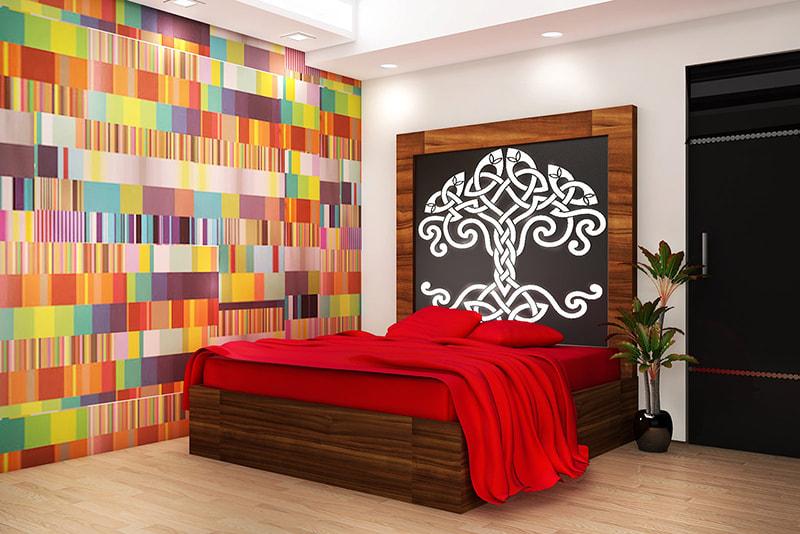 Contemporary Guest bedroom with wooden flooring by Reform Design  Bedroom   Interior Design Photos & Ideas