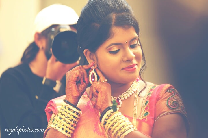 Bride getting ready! by Royale Photos Wedding-photography | Weddings Photos & Ideas