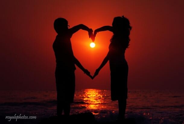 Love by the sunset! by Royale Photos Wedding-photography | Weddings Photos & Ideas