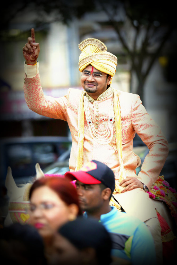 A cheerful groom in his barat! by Royale Photos Wedding-photography | Weddings Photos & Ideas