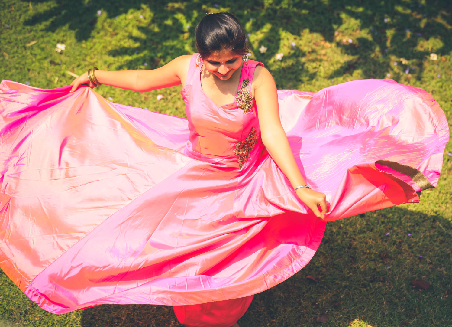 Beautiful bride-to-be wearing pink! by Royale Photos Wedding-photography | Weddings Photos & Ideas