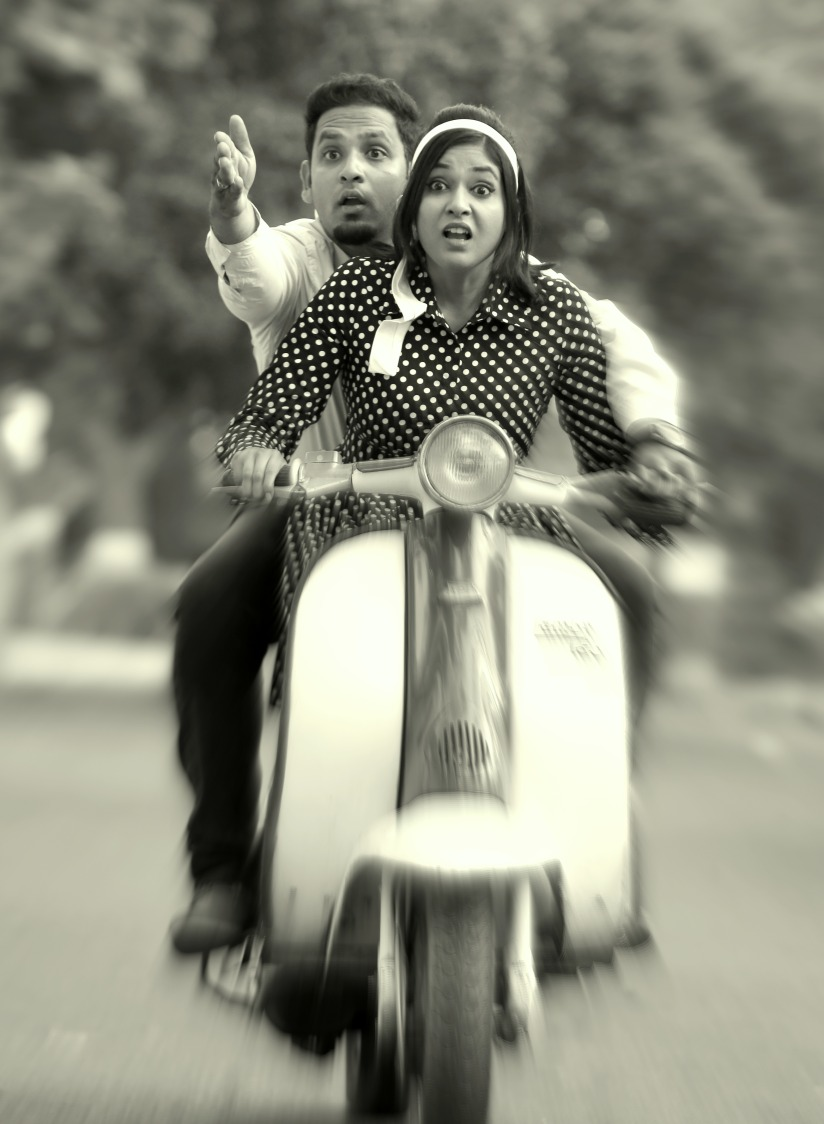 A quirky couple shooting for their pre-wedding shoot! by Royale Photos Wedding-photography | Weddings Photos & Ideas