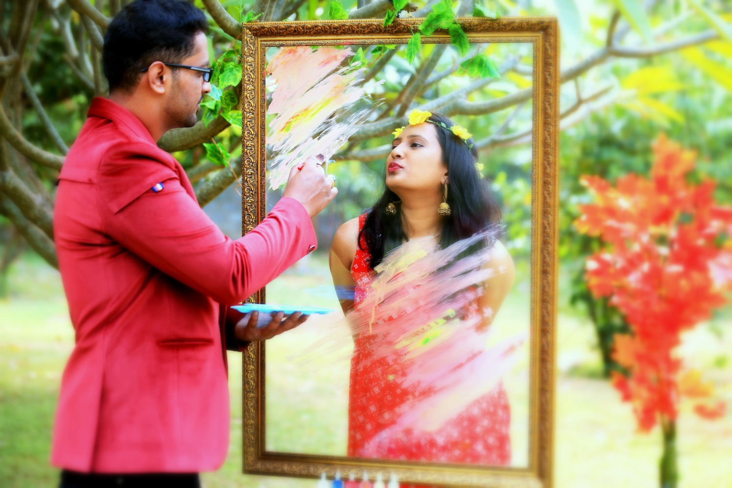 Painting the bride in the colour of love! by Royale Photos Wedding-photography | Weddings Photos & Ideas