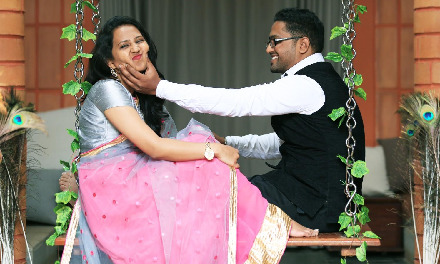 A funky couple on their pre-wedding shoot! by Royale Photos Wedding-photography | Weddings Photos & Ideas