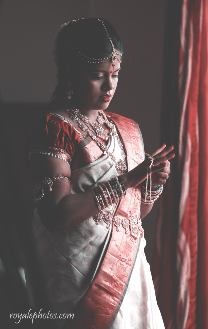 A bride getting ready for her wedding! by Royale Photos Wedding-photography | Weddings Photos & Ideas